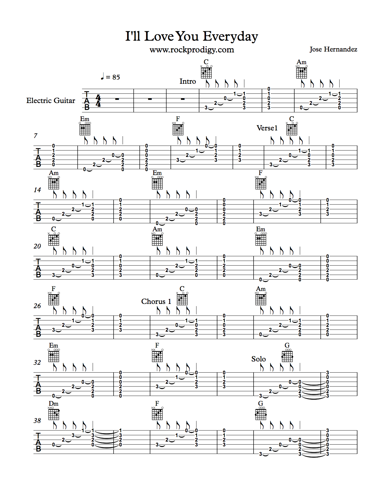 Practice Your Open Chords To This Fun Song Rock Prodigy Blog